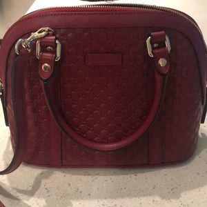 Beautiful Rich Red Gucci Bag